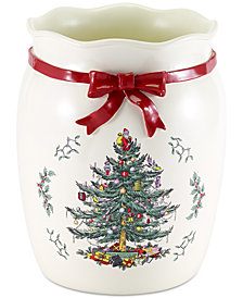 Avanti Spode Christmas Tree Wastebasket
