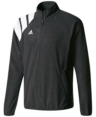 adidas Half-Zip Fleece Soccer Shirt