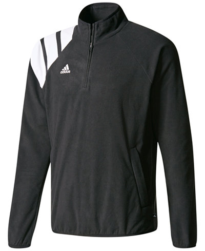adidas Half-Zip Fleece Soccer Shirt