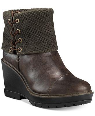 Timberland Women's Kellis Mid-Shaft Foldover Boots