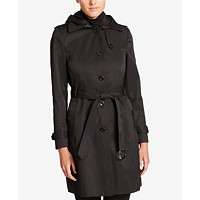 DKNY Trench Coat (Black / Khaki)