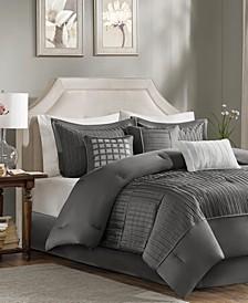 Trinity Charmeuse 7-Pc. California King Comforter Set