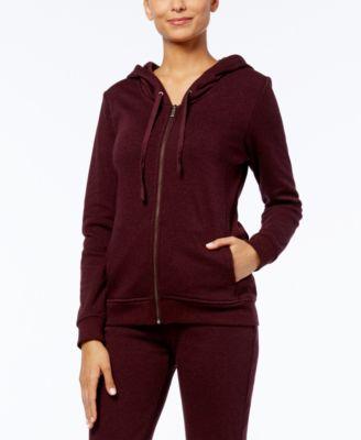 Clara Hooded Fleece-Lined Sweatshirt