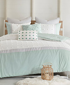 Urban Habitat Myla Cotton 7-Pc. Reversible Full/Queen Comforter Set