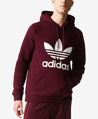 adidas Originals Men's Fleece Trefoil Hoodie