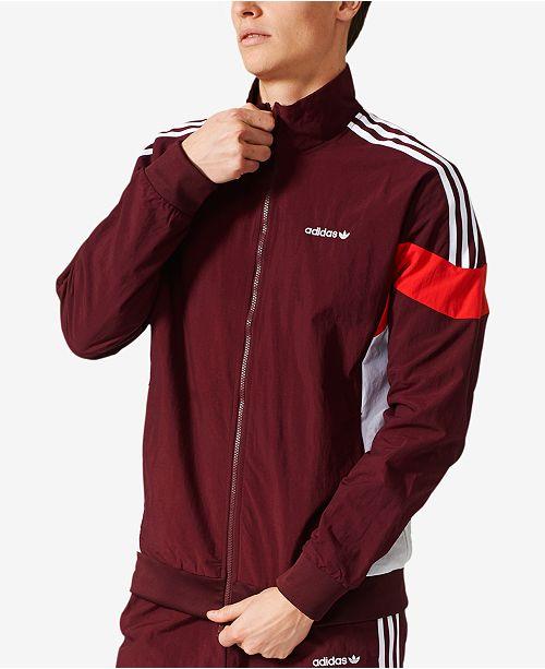 adidas fleece mens jacket