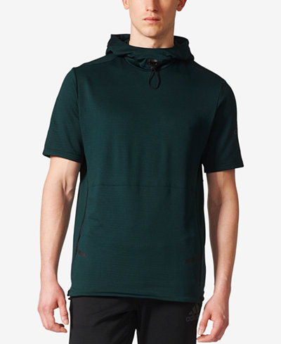 adidas Men's ClimaHeat® Short-Sleeve Sweatshirt