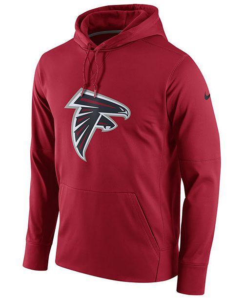 Nike Men's Atlanta Falcons Performance Circuit Logo Essential Hoodie