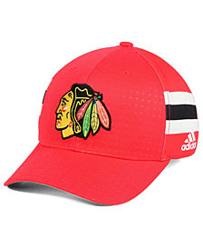 adidas Chicago Blackhawks 2017 Draft Structured Flex Cap