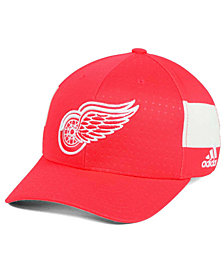 adidas Detroit Red Wings 2017 Draft Structured Flex Cap