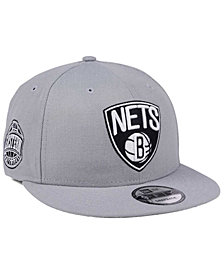 New Era Brooklyn Nets Gray Pop 9FIFTY Snapback Cap
