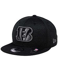New Era Cincinnati Bengals Shadow Black Graph 9FIFTY Snapback Cap