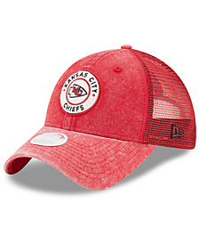 New Era Women's Kansas City Chiefs Perfect Patch 9TWENTY Snapback Cap