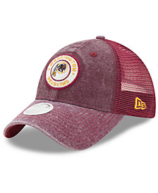New Era Women's Washington Redskins Perfect Patch 9TWENTY Snapback Cap