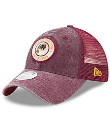New Era Women's Washington Redskins Perfect Patch 9TWENTY Snapback Cap
