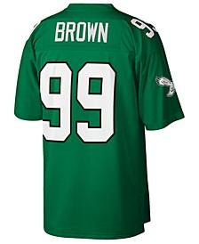 Men's Jerome Brown Philadelphia Eagles Replica Throwback Jersey