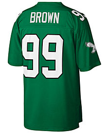 Mitchell & Ness Men's Jerome Brown Philadelphia Eagles Replica Throwback Jersey
