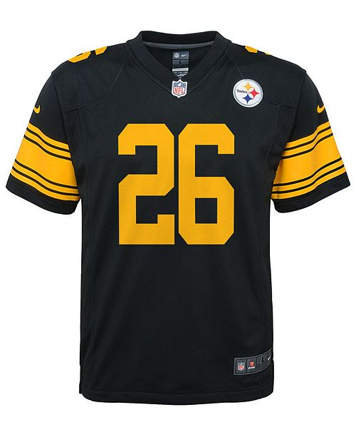 fe491a86dd0 Nike Le'Veon Bell Pittsburgh Steelers Color Rush Jersey, Big Boys (8- ...