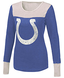 Touch By Alyssa Milano Women's Indianapolis Colts Blindside Thermal Long Sleeve T-Shirt