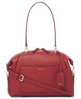 dkny chelsea large satchel created for macy s handbags rh macys com