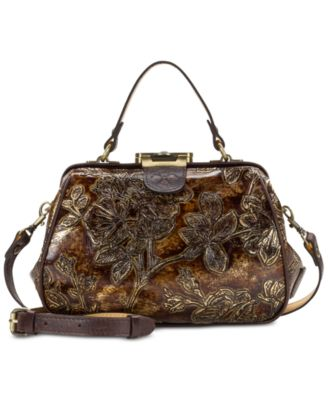 Metallic Gracchi Frame Satchel, Created for Macy's