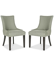 Mantell Dining Chairs With Nailhead Trim (Set Of 2)