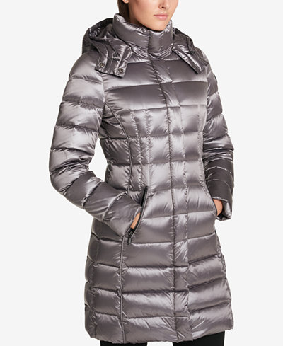 Dkny Seamed Down Puffer Coat Coats Women Macy S