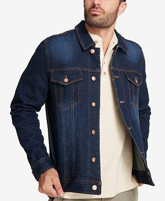 Weatherproof Vintage Men's Faded Denim Jacket