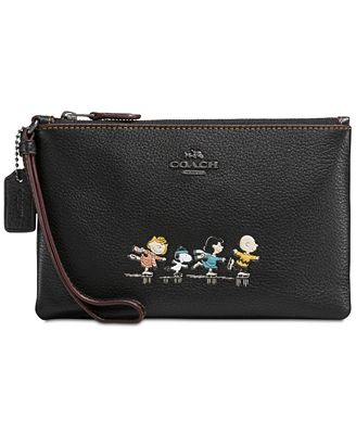 COACH Peanuts' Snoopy Boxed Small Wristlet