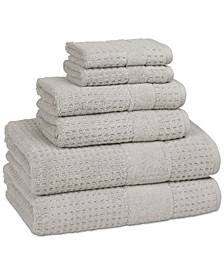 Checkered 100% Turkish Cotton 6-Pc. Towel Set