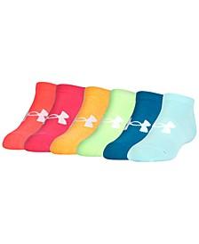 Women's 6 Pack Liner No Show Socks