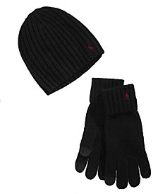 Polo Ralph Lauren Men's Hat & Glove Gift, Created for Macy's