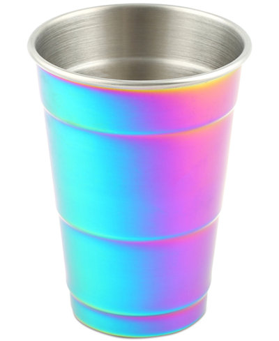CLOSEOUT! Thirstystone Metallic Rainbow Party Cup