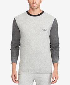 Polo Ralph Lauren Men's Waffle-Knit Thermal Shirt