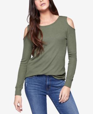 BOWERY COLD SHOULDER THERMAL TEE