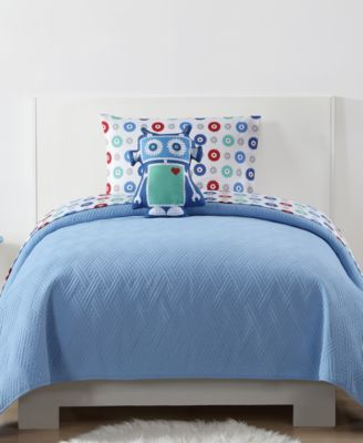 Kids Quilted Jersey Twin/Twin XL Coverlet