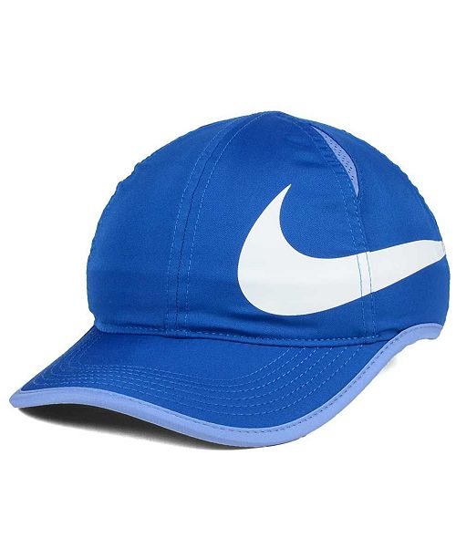 Nike Girls  Featherlight Swoosh Cap - Sports Fan Shop By Lids - Men ... c7849296474e