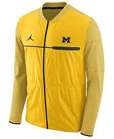 Nike Men's Michigan Wolverines Elite Hybrid Jacket
