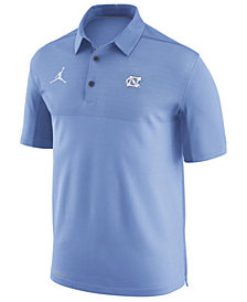 Nike Men's North Carolina Tar Heels Elite Coaches Polo