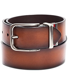 Men's Reversible Logo Belt