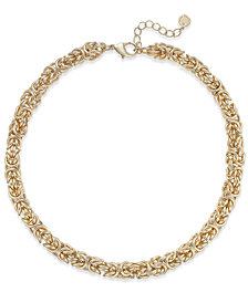 Charter Club Gold-Tone Multi-Link Necklace, Created for Macy's