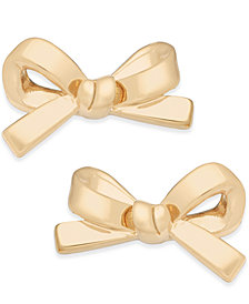 kate spade new york Bow Stud Earrings