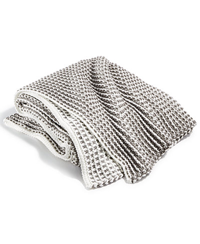 Charter Club Damask Designs Two Tone Throw, Created for Macy's