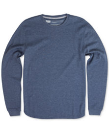 Levi's Men's Sadler Waffle-Knit Thermal Sweatshirt