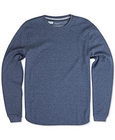 Levi's® Men's Sadler Waffle-Knit Thermal Sweatshirt