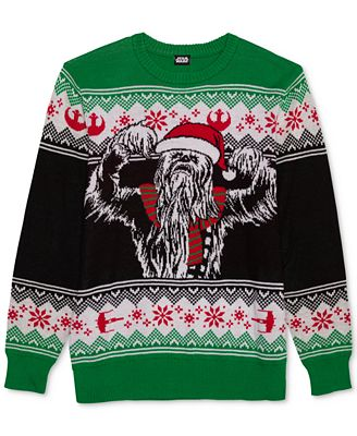 Hybrid Mens Chewie Clause Holiday Sweater Sweaters Men Macys