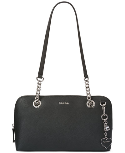 Calvin Klein Saffiano Medium Shoulder Bag
