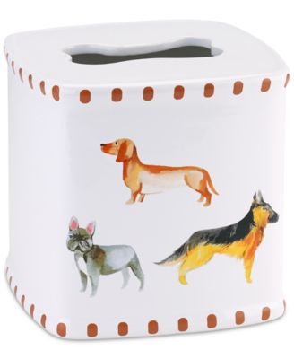 Dogs on Parade Tissue Cover