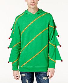 American Rag Men's Christmas Tree Hoodie, Created for Macy's