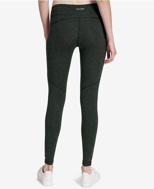 07bbc08db2c Calvin Klein Drawstring Leggings   Reviews - Pants   Capris - Women ...